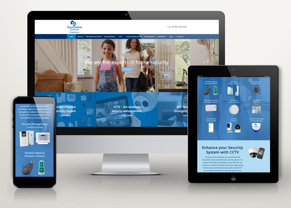 Welcome to our new, mobile friendly website